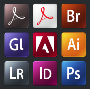 Adobe Products Icons